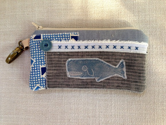Patchwork Whale Pouch